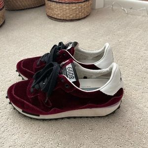 Golden Goose Shoes - Golden Goose GGDB Red Velvet Starland Sneakers 6